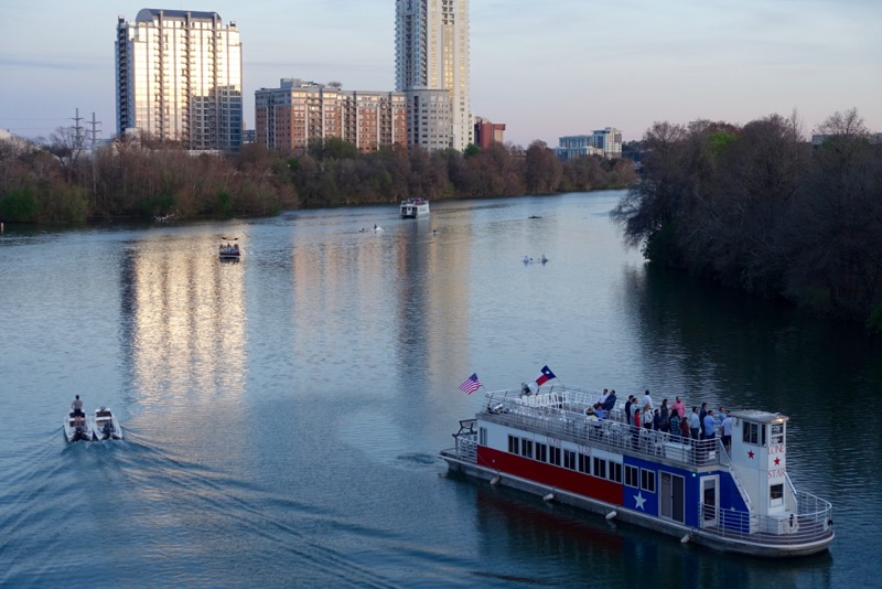 Lady Bird Lake is a lovely oasis...