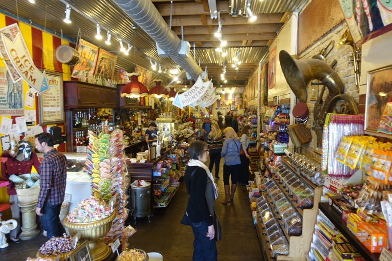 Big Top Candy Shop is really really big...