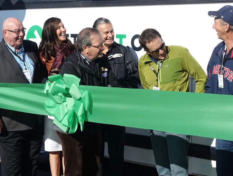 Ribbon cutting at High River was too much fun!