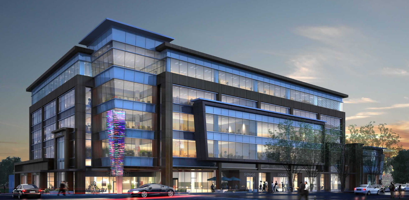 Rendering of Windsor Block, designed by Ron Poon and the team at NORR architects in Calgary.