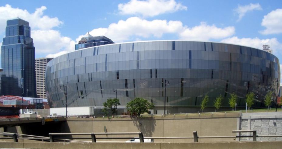 Sprint Centre, designed by HOK