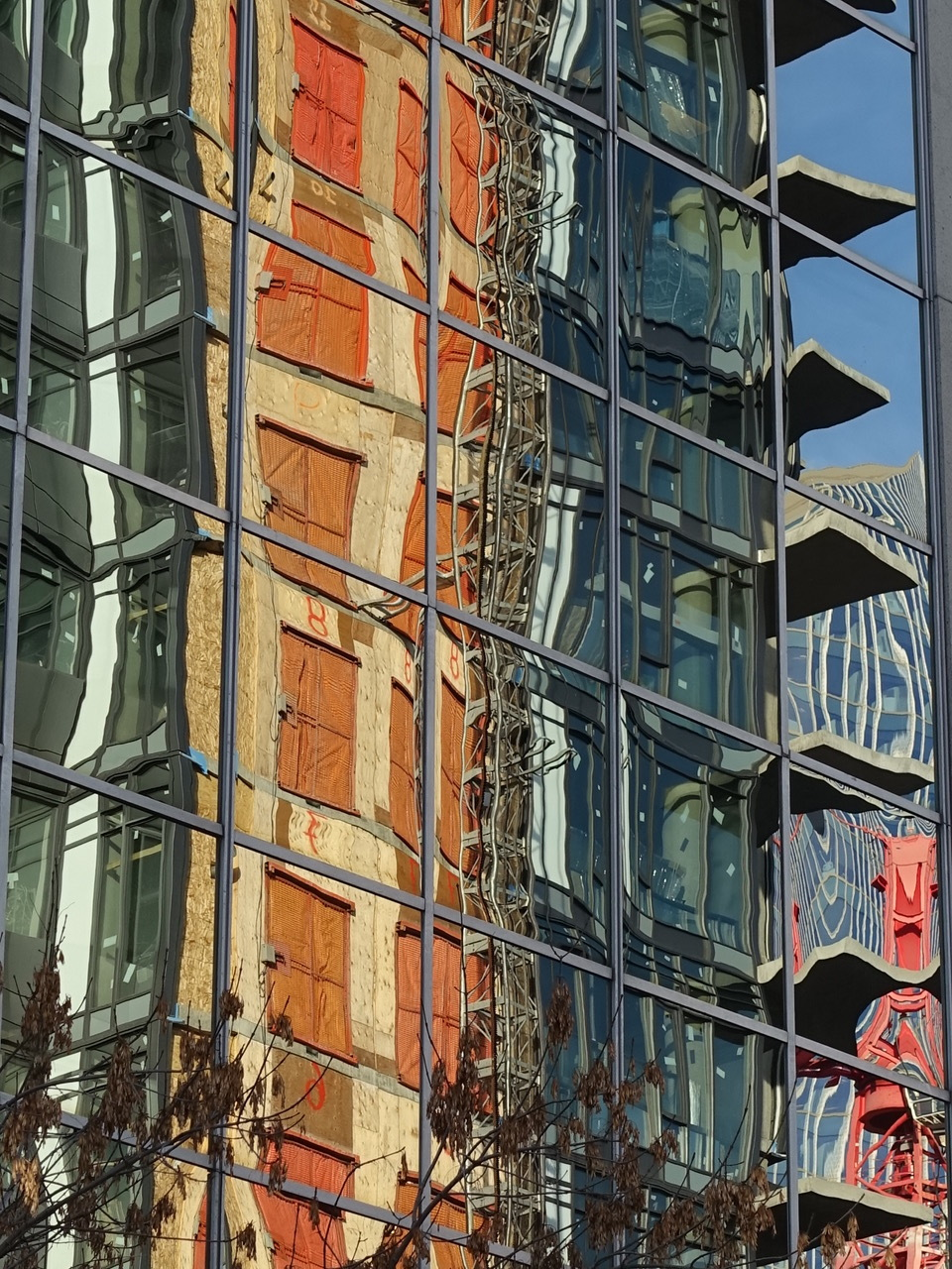 Calgary's architectural surrealism is evident across its 50+ block downtown core.