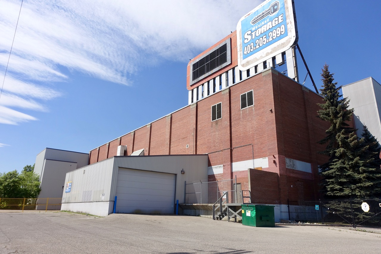 This building is slated to be phase 1 of the site's redevelopment when the time is right.