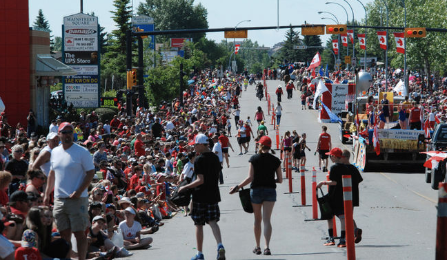 Airdrie's Canada Day Parade