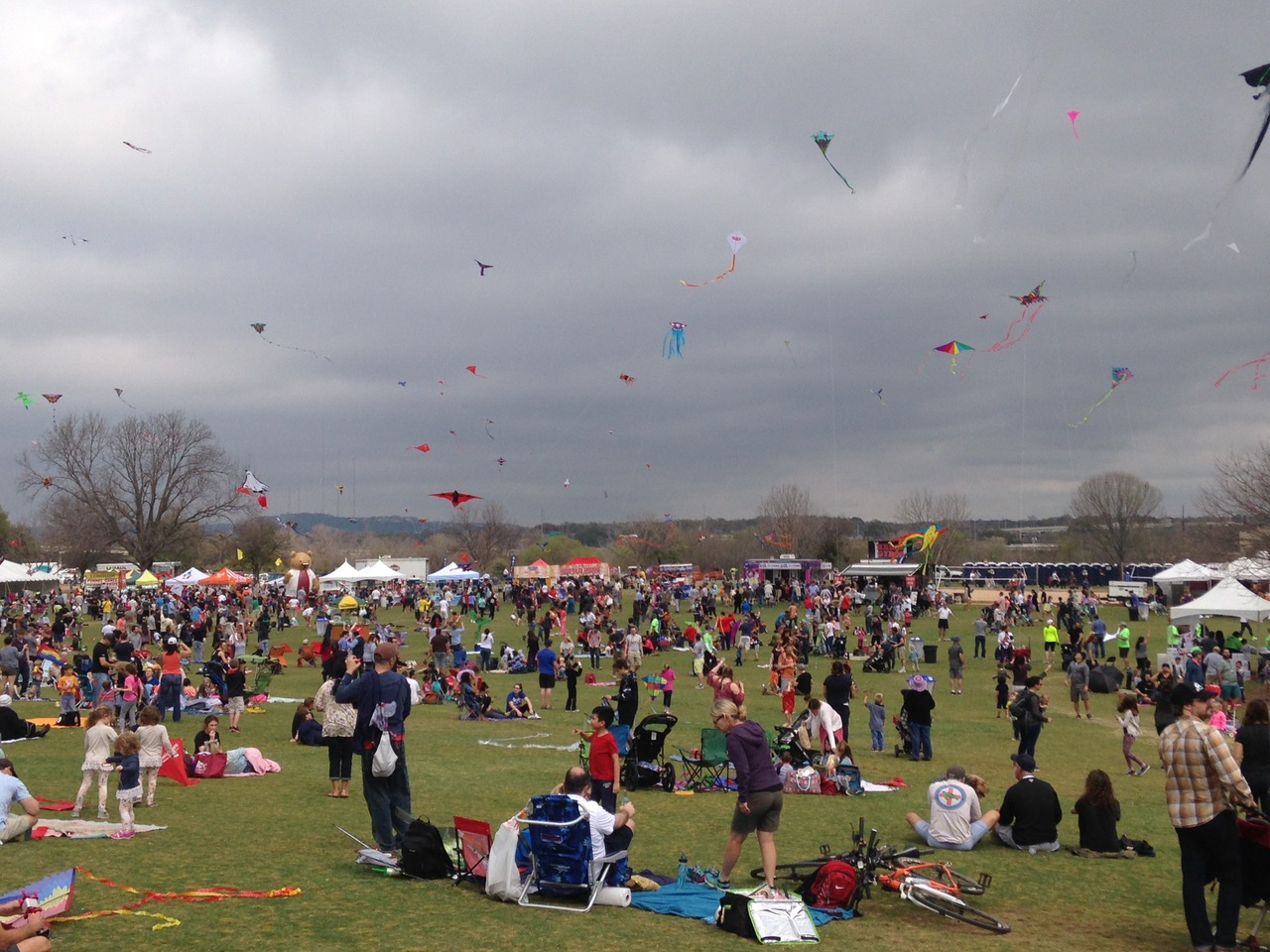Austin threw me a great birthday party last year.  Each year, on the first Sunday of March Austin's Zilker Park is the site of a huge kite festival.  In 2016, it just happen to take place on my birthday.  Link: Austin Kite Festival: Cheap, Colourful, Chaotic & Crazy!