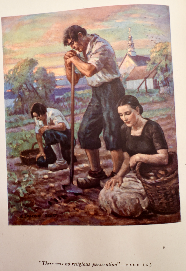 painting by Adam Sherriff Scott, A.R.C.A., Montreal, P.Q., 1941