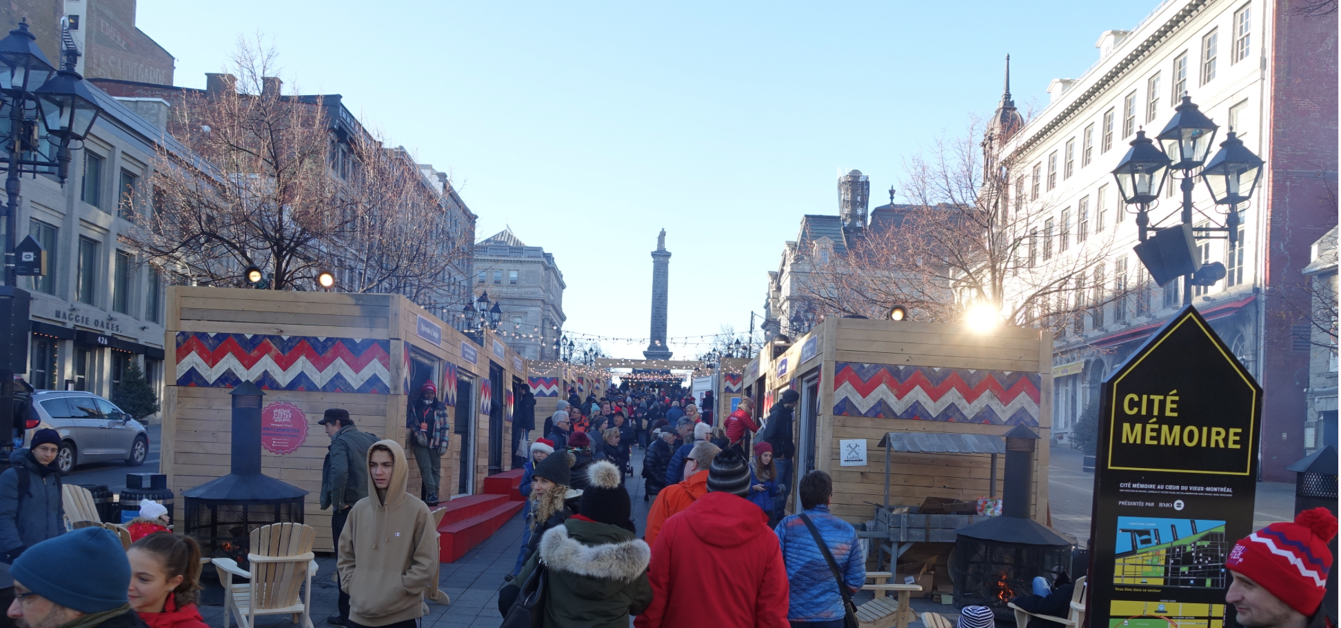 One of several Winter Markets that we encountered as we flaneured Montreal's City Centre.