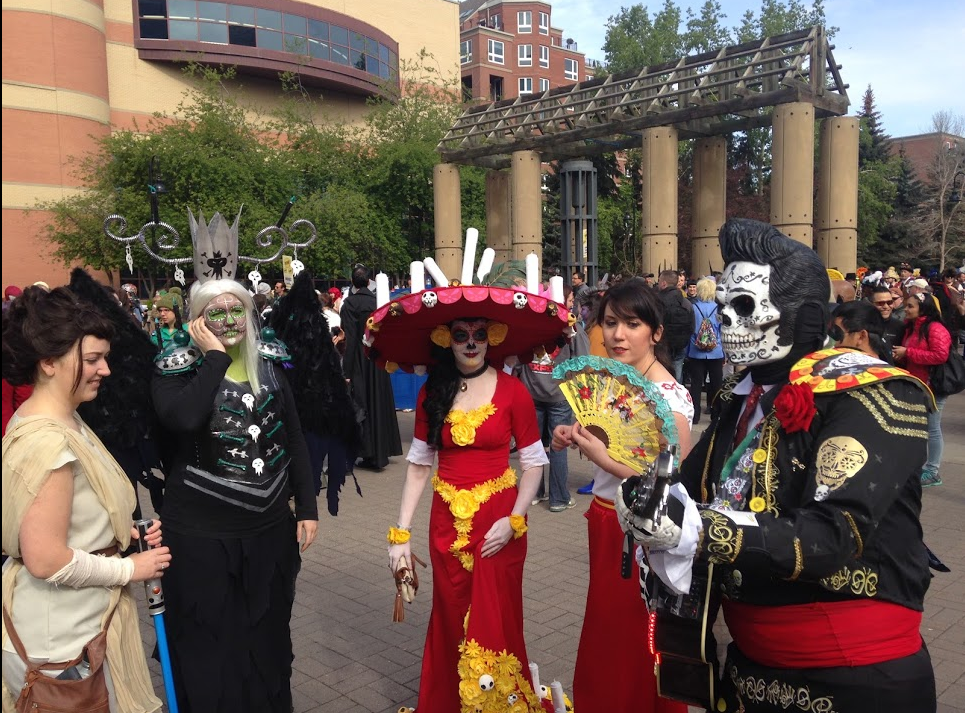 Calgary has one of the largest cosplay festivals in Canada, including a fun parade through the streets of downtown.