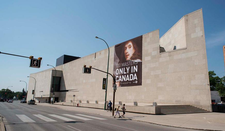 In 1971, the Winnipeg Art Gallery moved into its uber modern building designed by Canadian architects Gustavo da Roza and Isadore Coop, long before it became trendy to create iconic/signature art galleries.