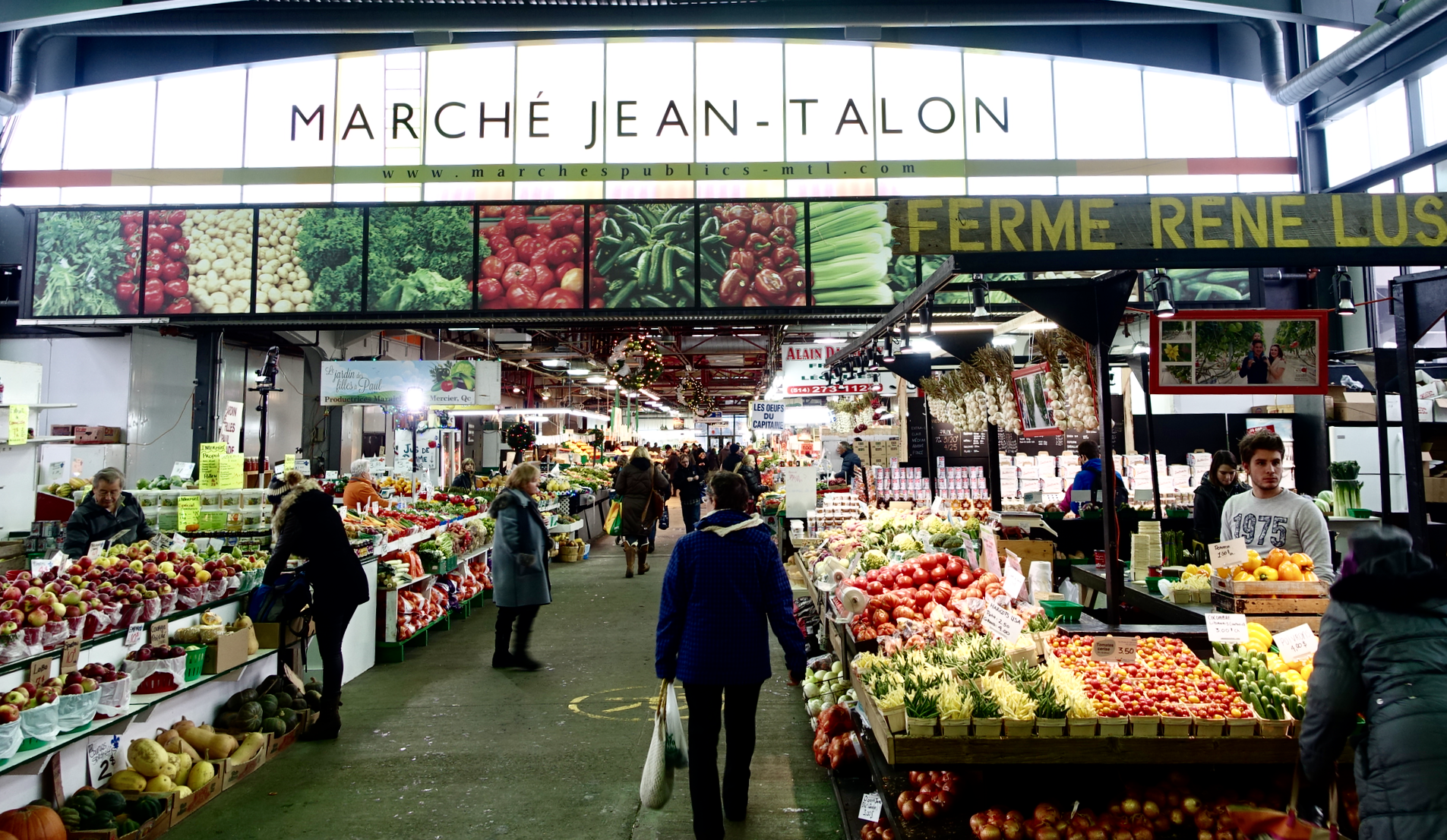 Montreal's two markets add a very European flavour to the city.