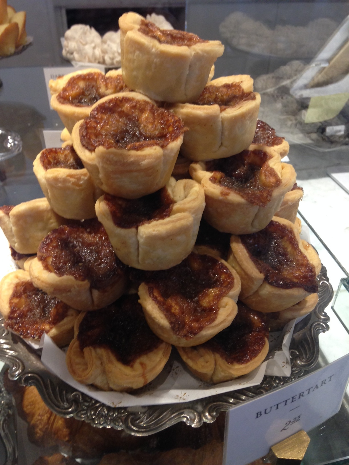 Sample the butter tarts at Edmonton's Duchess Bake Shop at 10720 - 124th St.  Edmonton is home to several delicious bakeries. 124th St. it a fun pedestrian district.