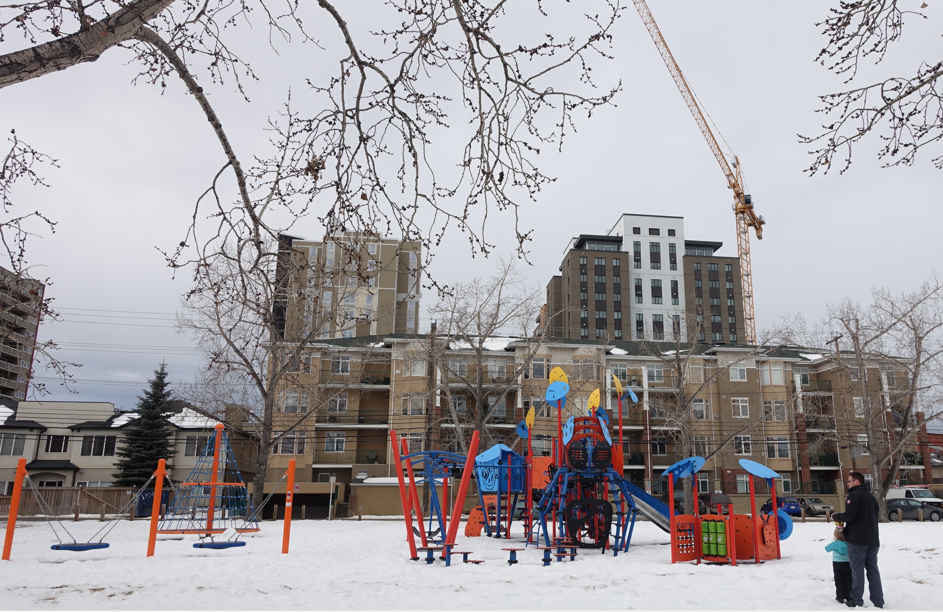 While the Manchester school closed a few years back, there is a lovely community playground.