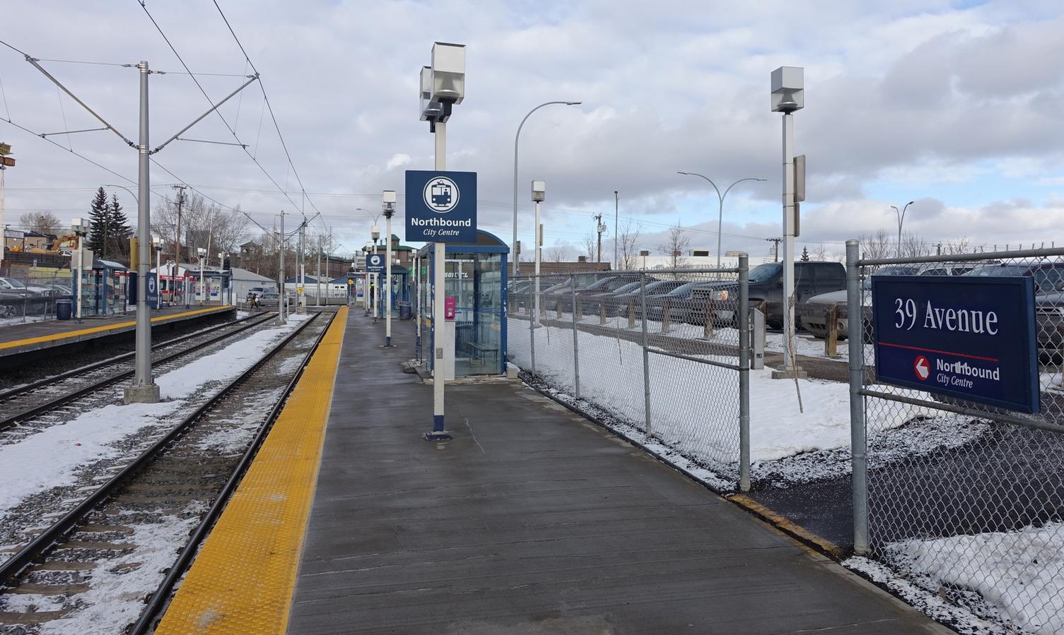 North America's ugliest LRT Station.