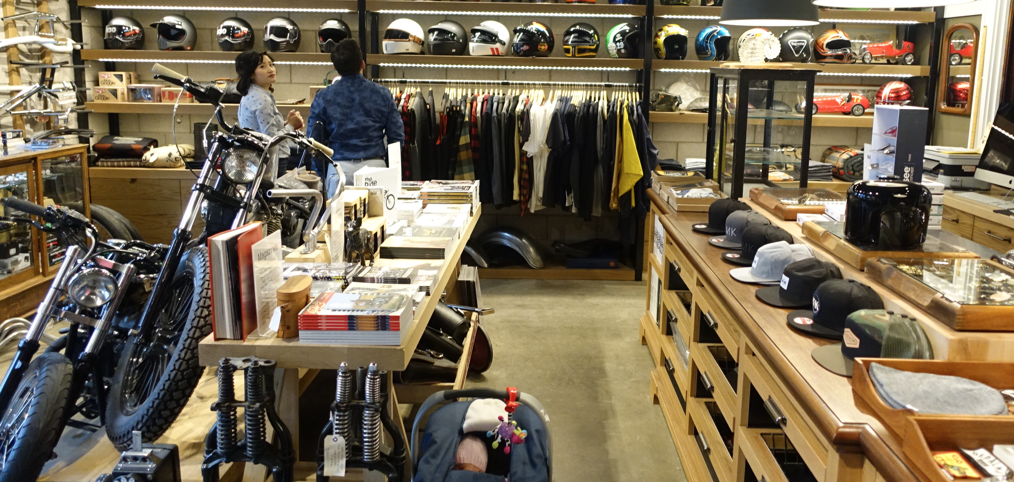 Ill-Fated Kustoms  is part fashion, part second hand, part motorcycle store in Manchester.