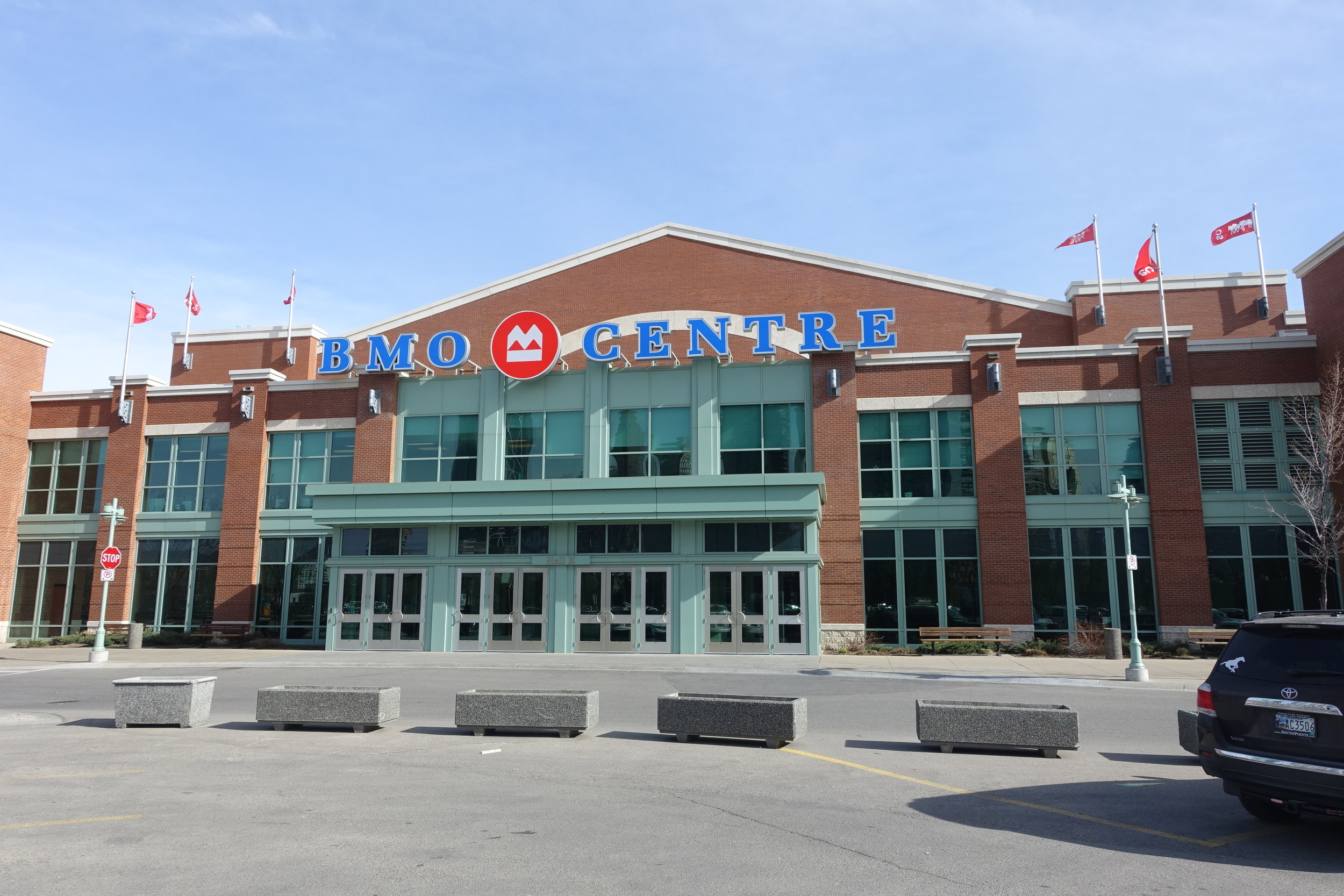 BMO Centre is a well used trade show facility, however, if it is going to become a successful convention centre it will need to have adequate hotel, restaurant, pub, bars, lounges and shop amenities.  The pedestrian link to downtown and 17th Ave will also have to be significantly improved.