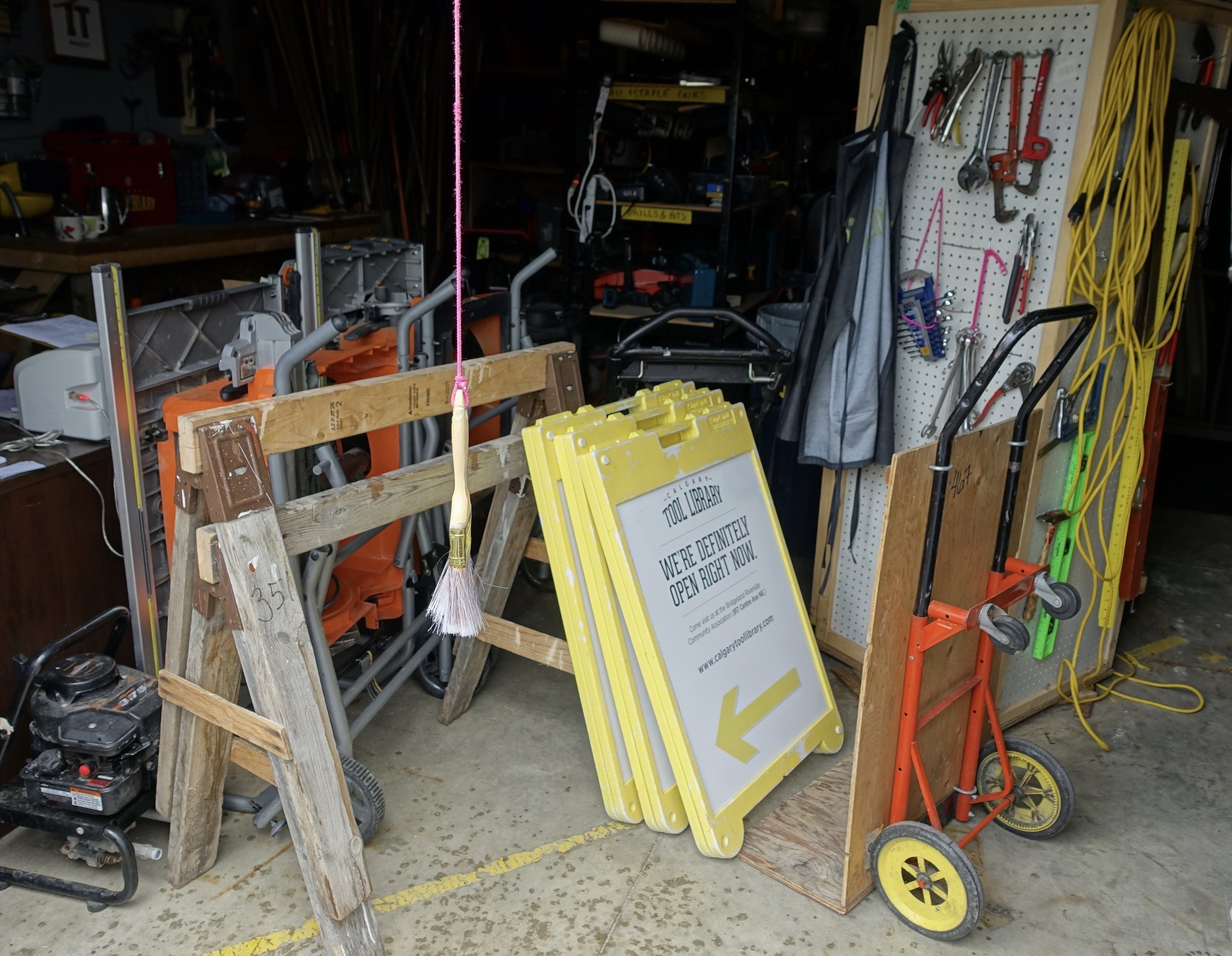 B/R's Tool Library is just one of the many ways residents are working together to create a sharing community.