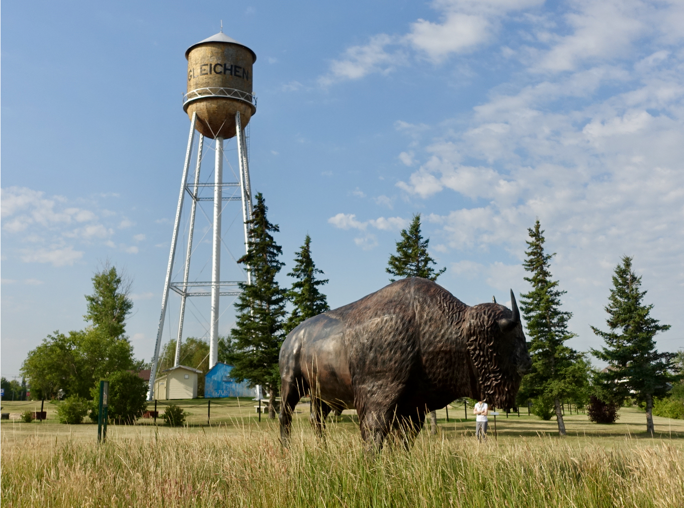 Who knew the Gleichen water tower is a national historic site?Link    National Historic Sites