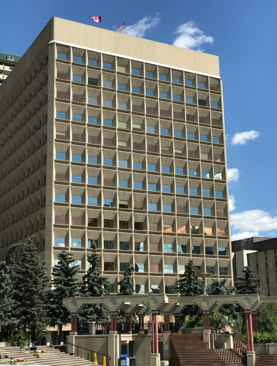 Rocky Mountain Plaza is another example of an older building that might be considered for conversion given it proximity to Olympic Plaza, Art Commons, Stephen Avenue Walk and Glenbow.