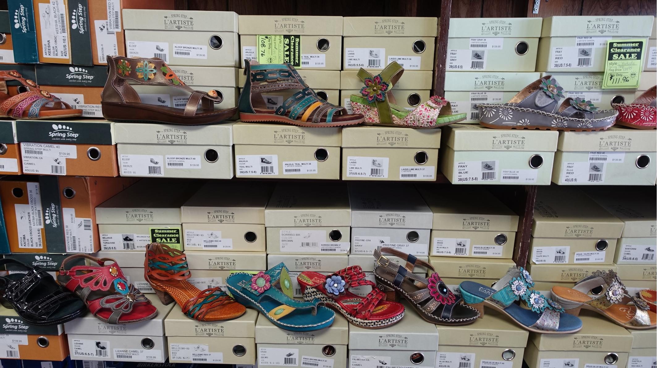 Shoes or folk art?