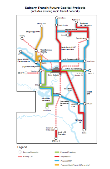 Calgary has an ambitious transit vision.