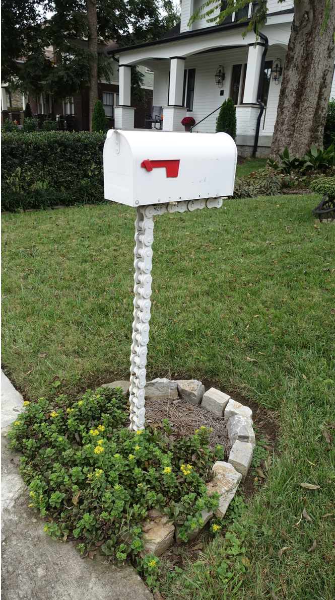 Nashville has some quirky mailboxes in its established neighbourhoods.