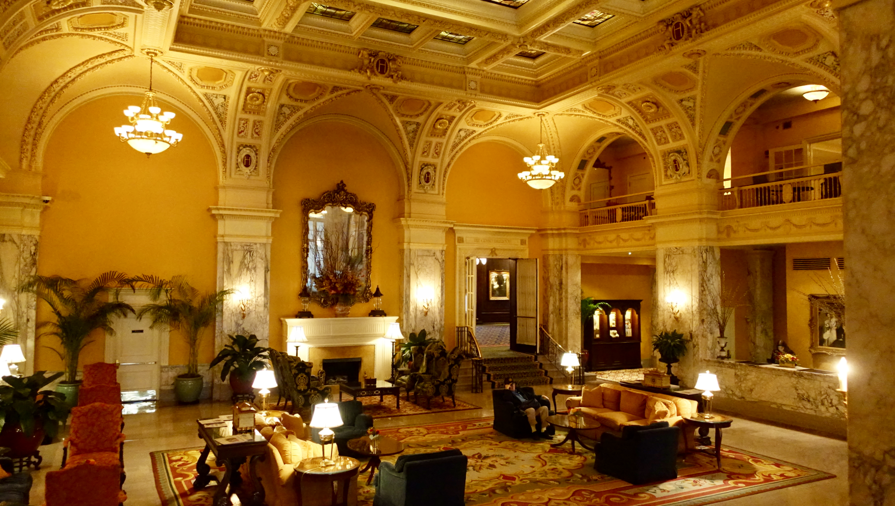 Nashville's 1908 Hermitage Hotel is a reminder of the elegance and grandeur of the past. Calgary's equivalent would be the 1914 Fairmont Palliser Hotel