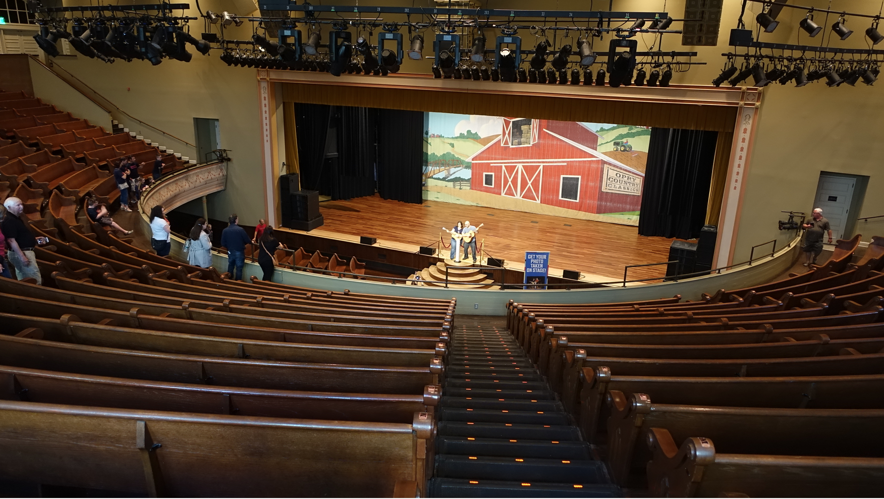 Ryman tours allow you to explore the building which is home to many artifacts, displays and photo ops.
