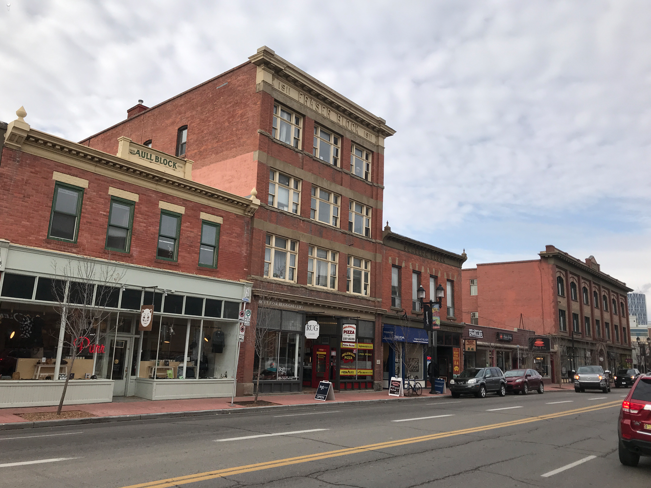 Inglewood's Main Street aka 9th Avenue aka Atlantic Avenue, Calgary's first commercial street has retained its historical character with major new developments at its east and west entrances.