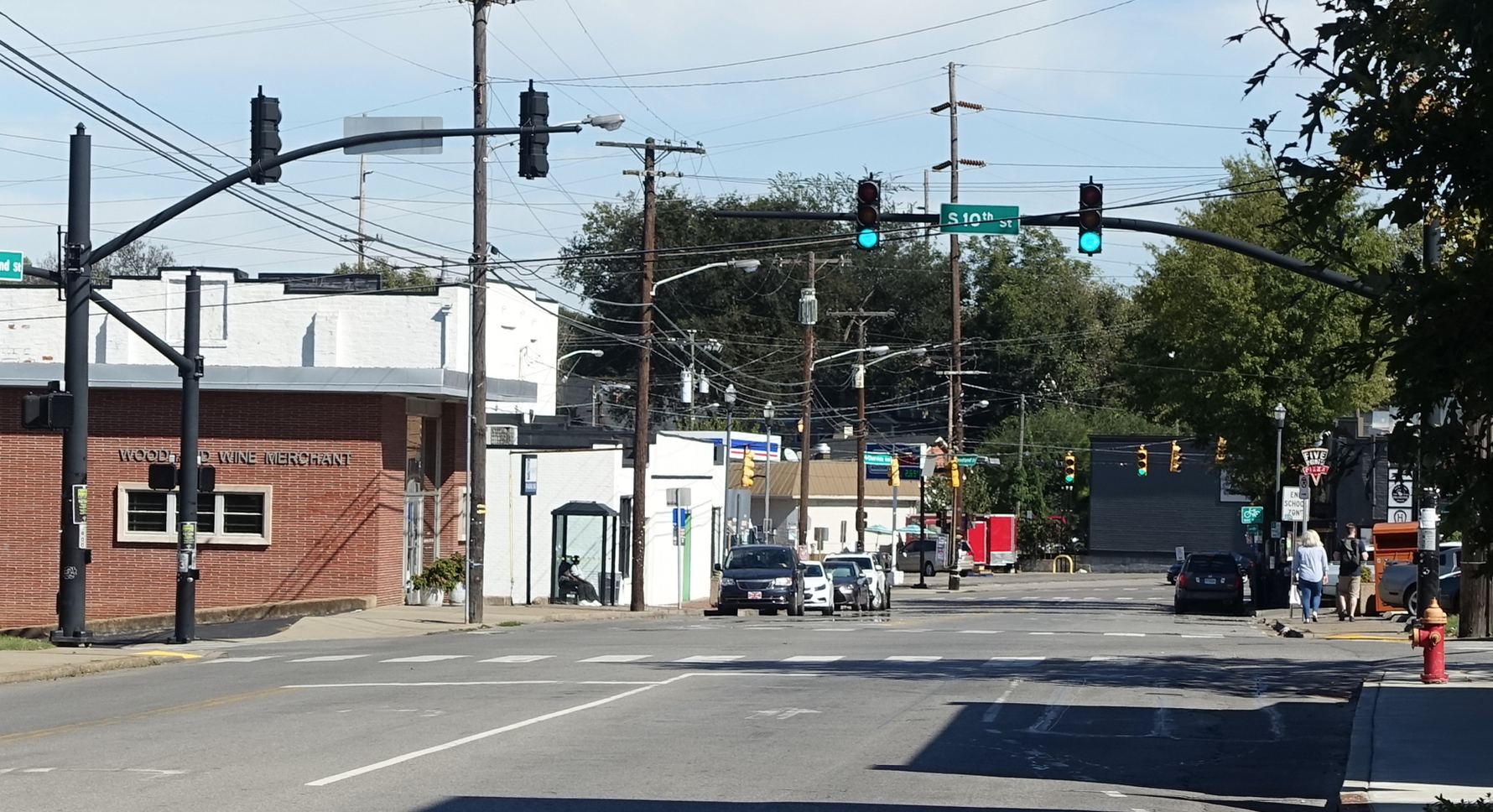 Many of East Nashville's corners are waiting to be developed.