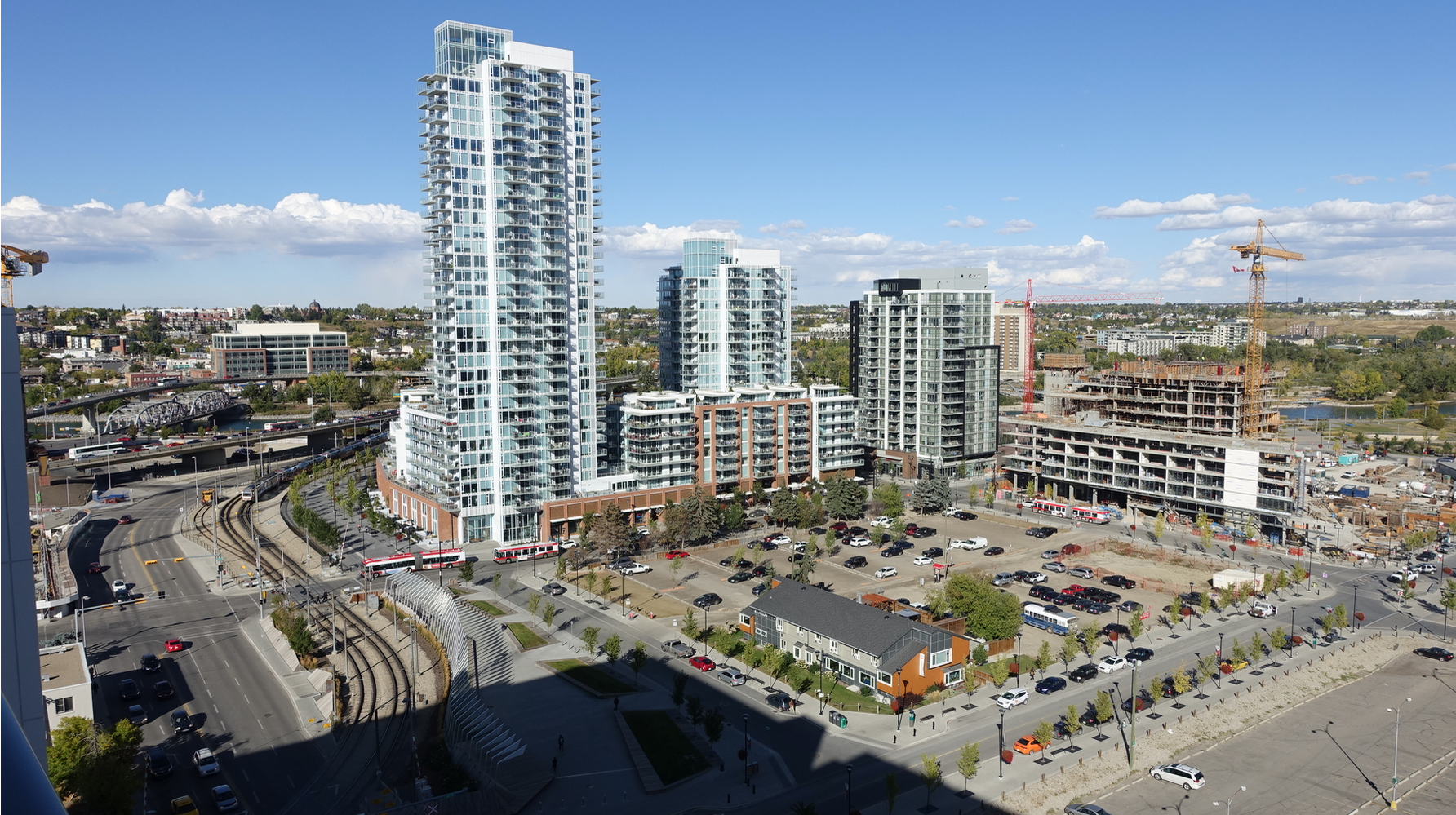 Calgary's East Village is a multi-billion dollar development that will eventually be home to 12,000 residents immediately east of the downtown core.