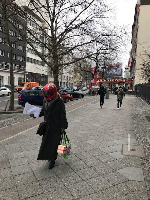 Pedestrian, Berlin