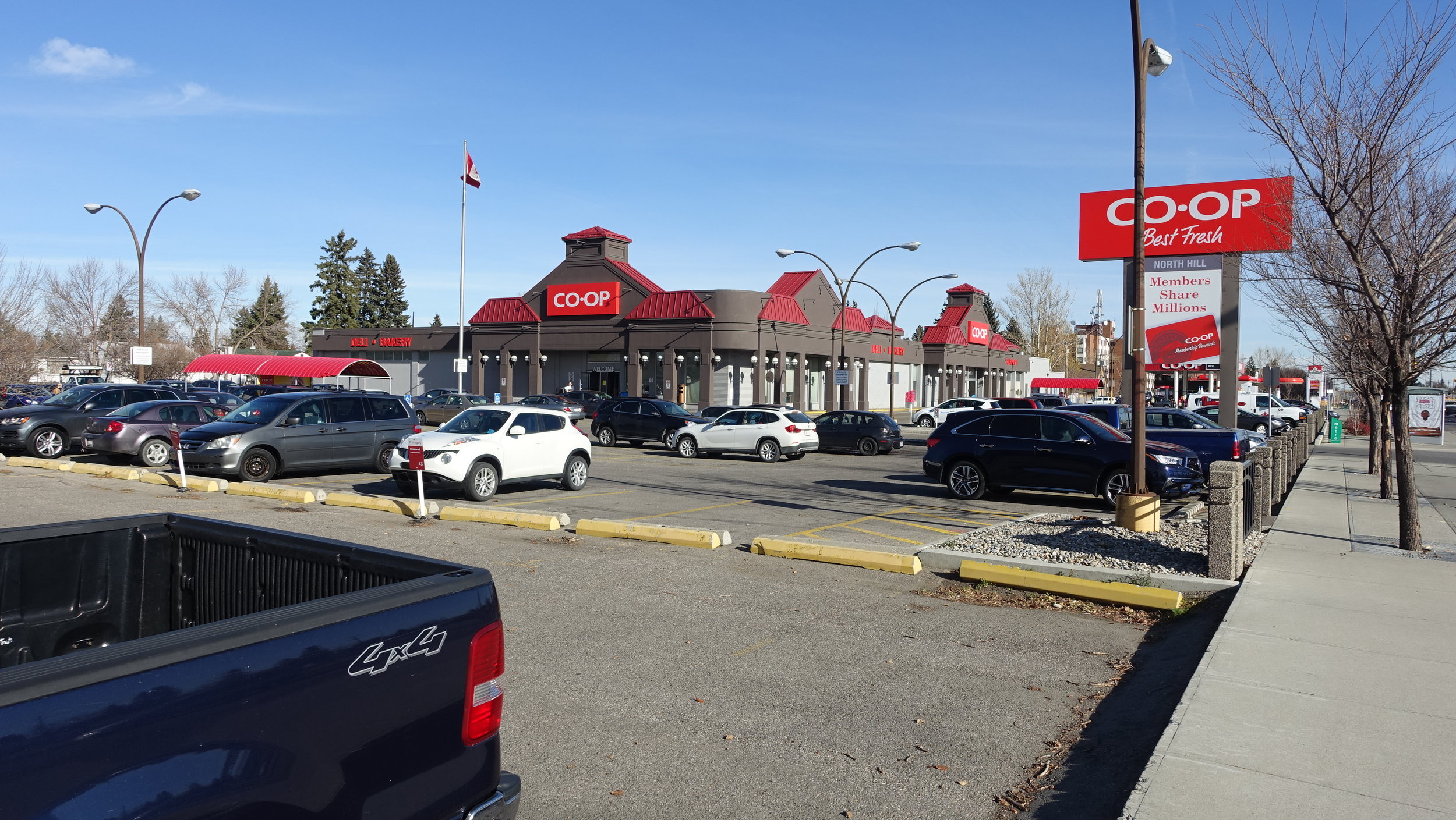 Calgary Co-op site could become anchor 16th Avenue transformation.