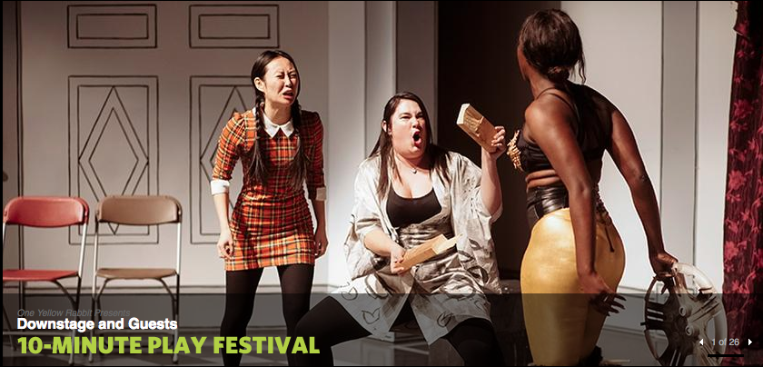 Friends highly recommend the 10-minute play festival, they have attended every year for the past 20+ years.