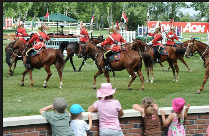 Family fun at Spruce Meadows (photo credit: Spruce Meadows Media)