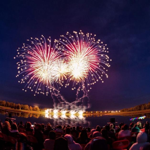 GlobalFest fireworks (photo credit: GlobalFest and J&J Photography)