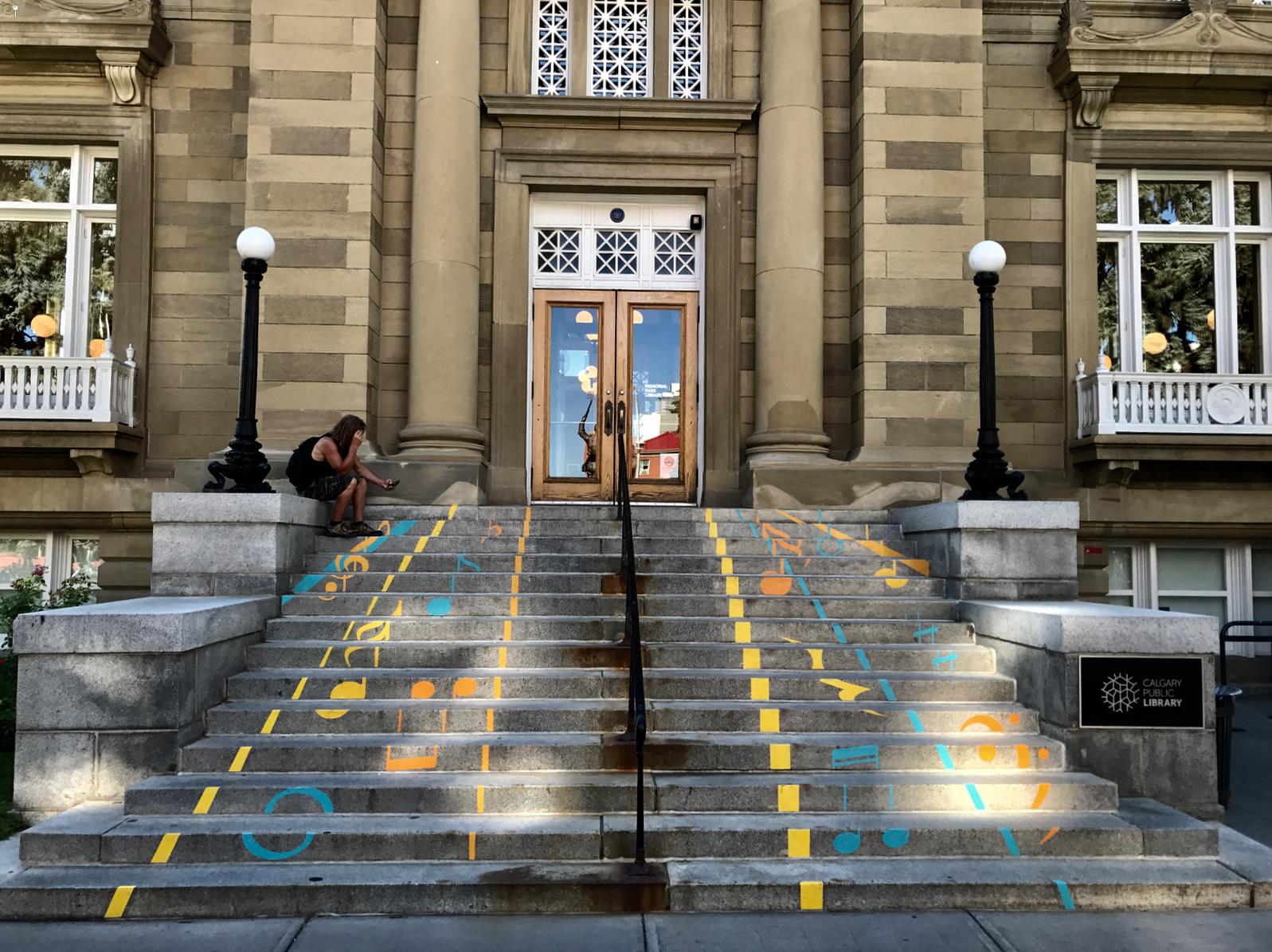 Musical Stairs, Calgary