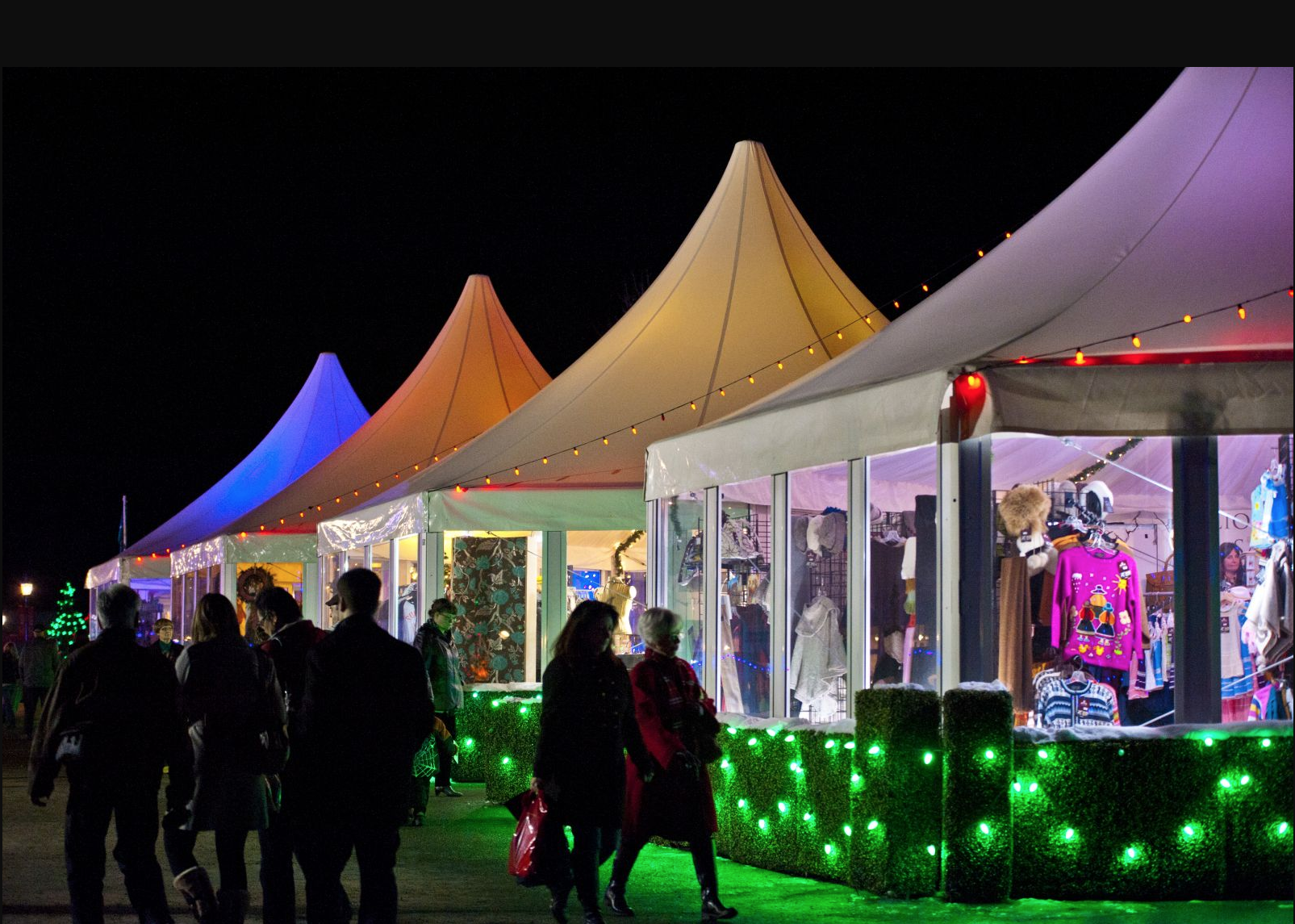 Spruce Meadows Christmas Market (photo credit: Spruce Meadows Media)