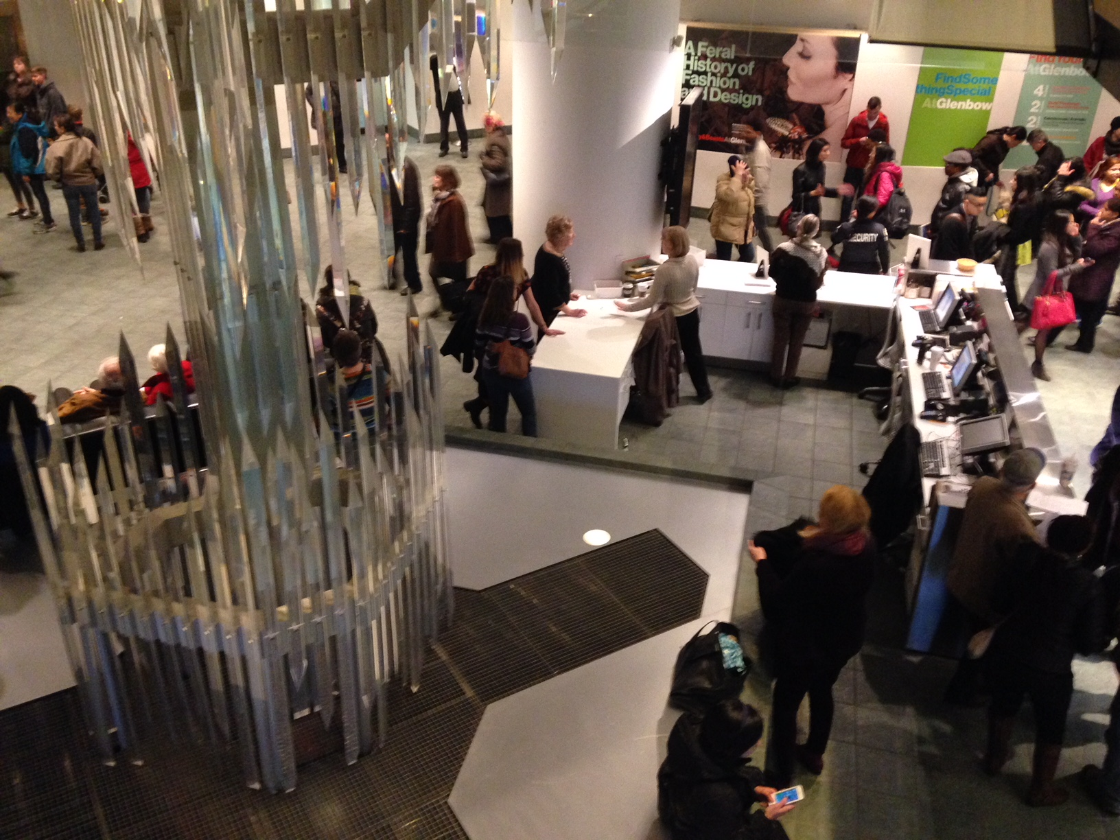 Free First Thursdays at the Glenbow have become very popular.