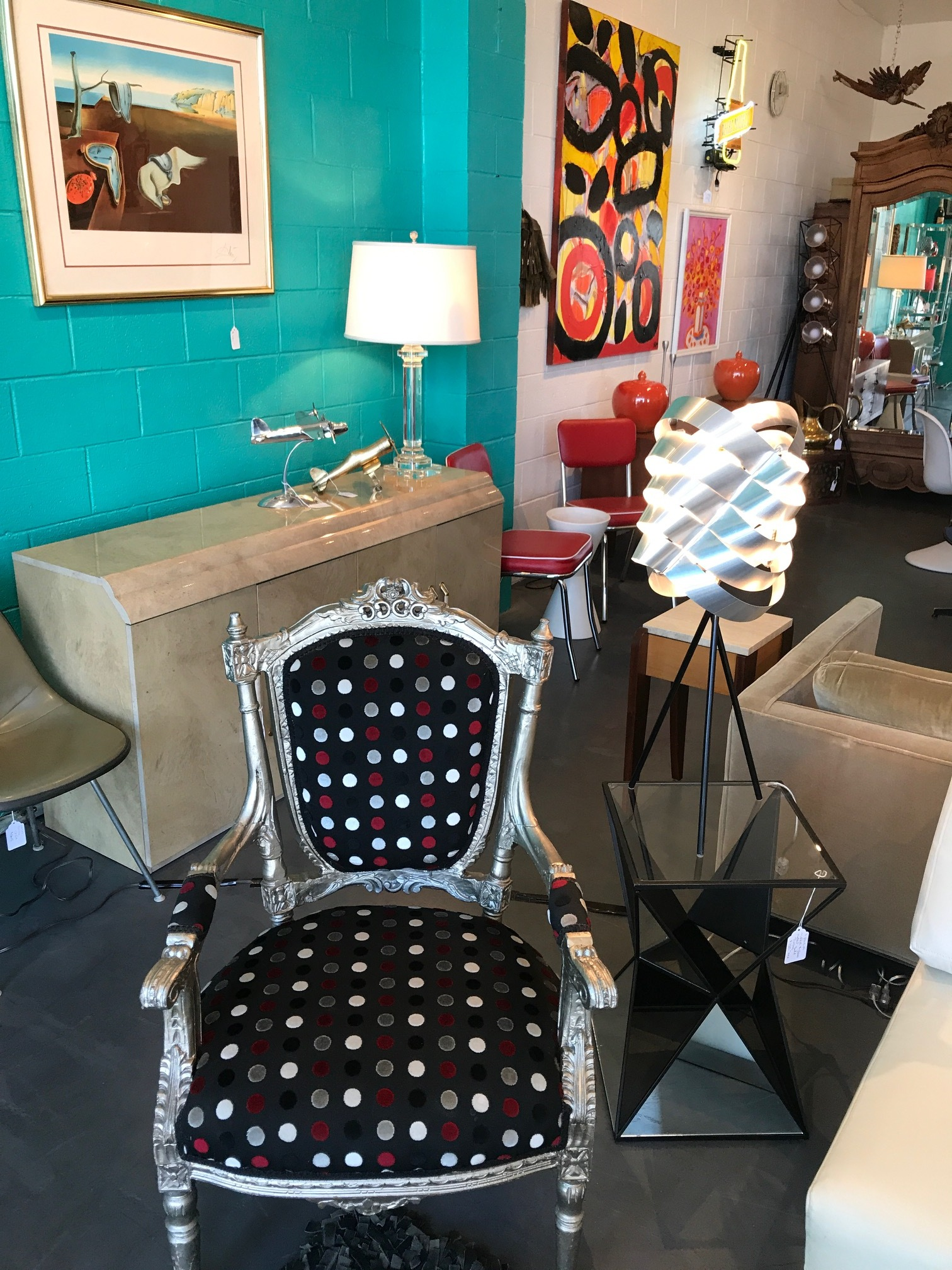 Echo Vintage Furnishings is heaven for mid-century lovers.