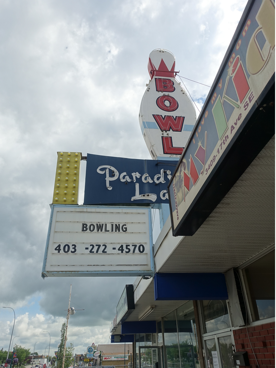 Paradise Lanes is one of International Avenue's iconic businesses.