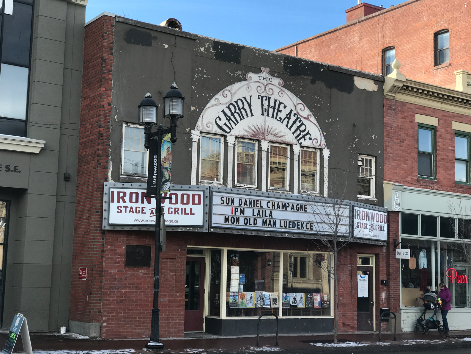 The Garry Theatre aka Ironwood Stage & Grill offers everything from blues jams to Big Band brunches.
