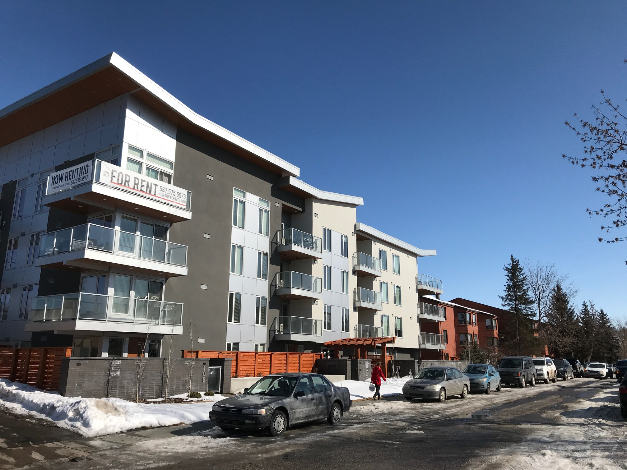 Here is what the new condo with 45 new homes looks like today.