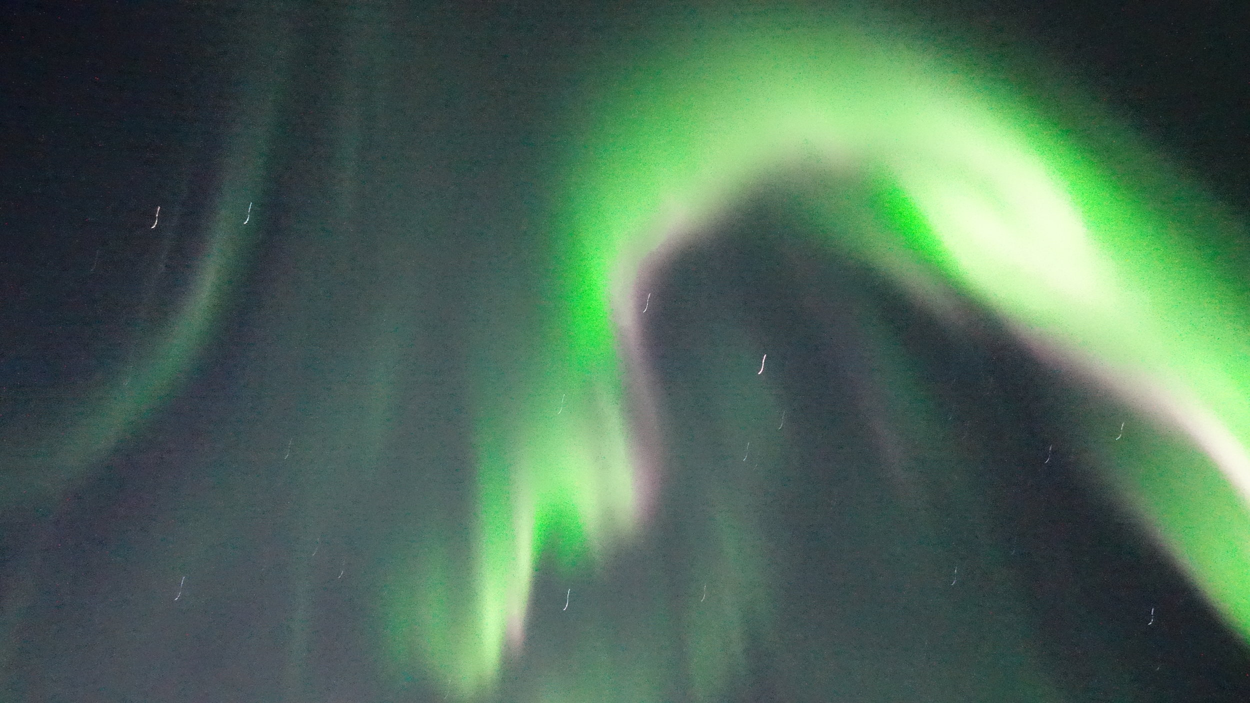 The Aurora Borealis is spectacular, constantly changing and lighting up the night sky.