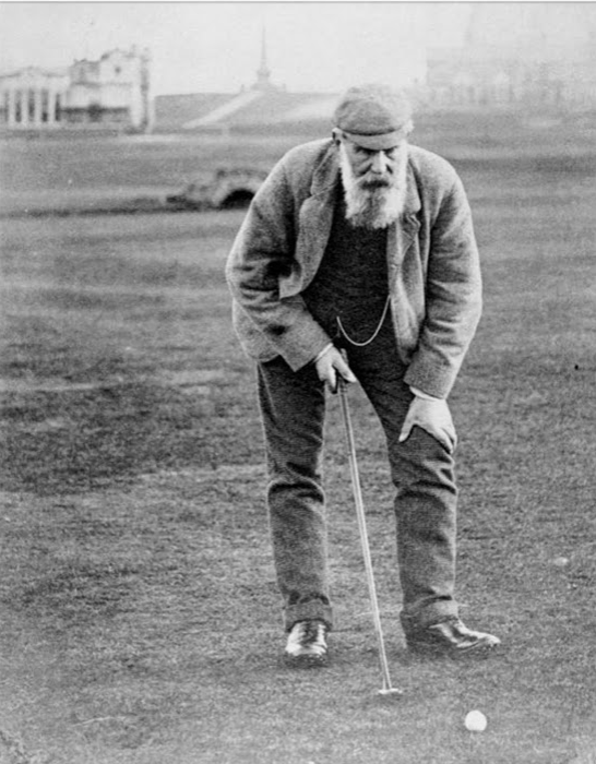 Old Tom Morris, architect St. Andrews Old Course