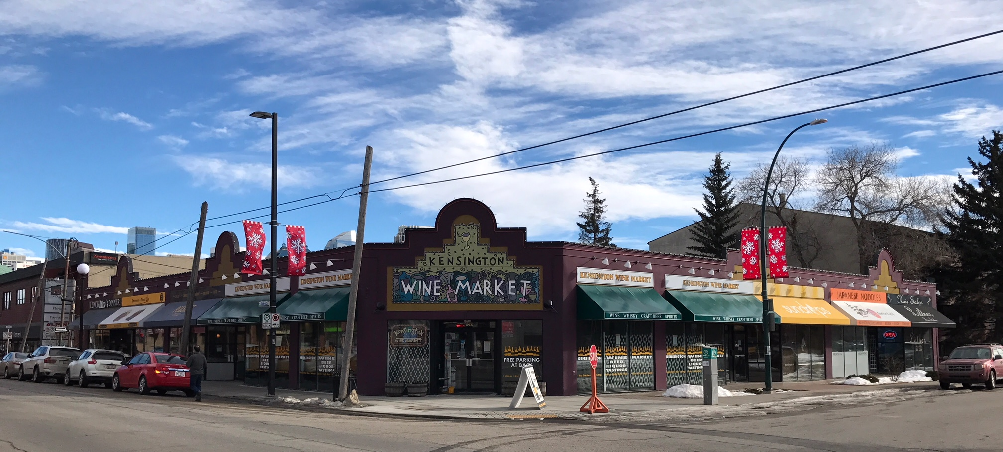Kensington Wine Market block oozes bohemian charm.