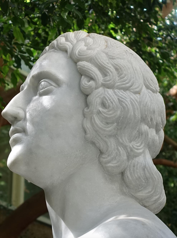 Plato, Nikolaos Pavlopoulos, marble, University of Calgary