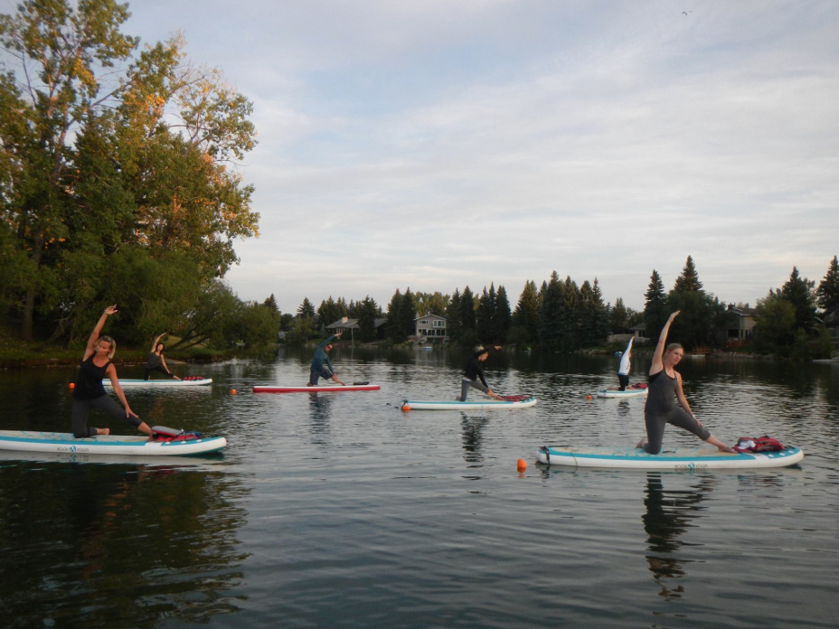 Yoga on the Lake? Lake Bonavista, Calgary (photo credit: carpediem.cd)