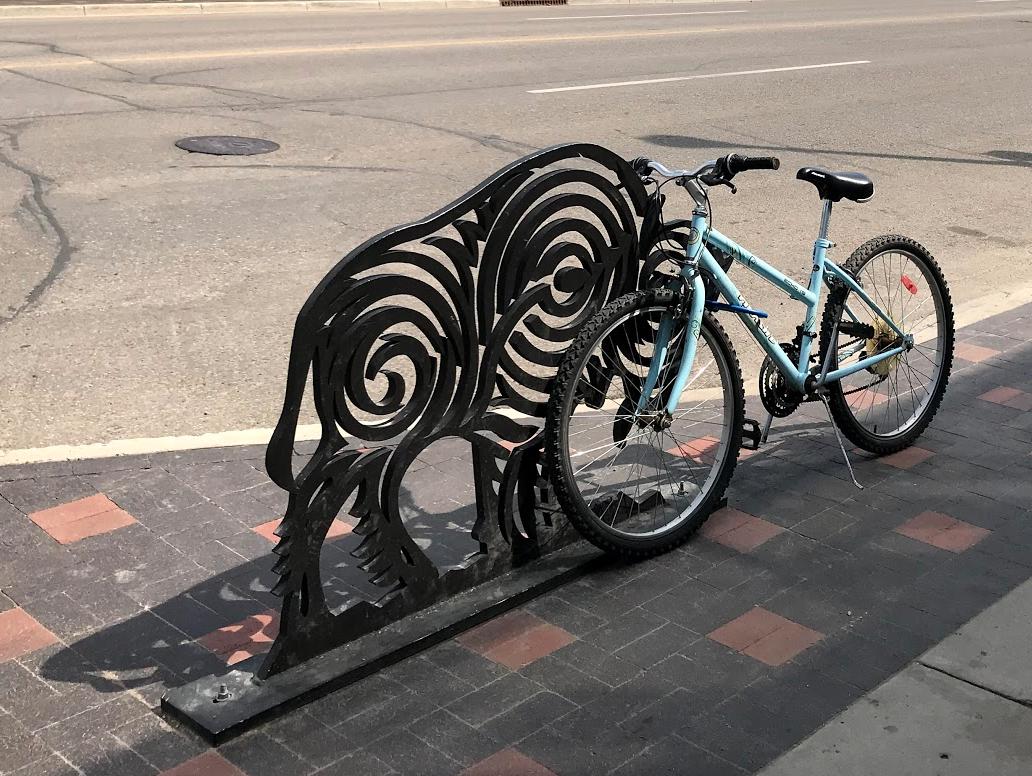 If Joe Farfard designed a bike rack?