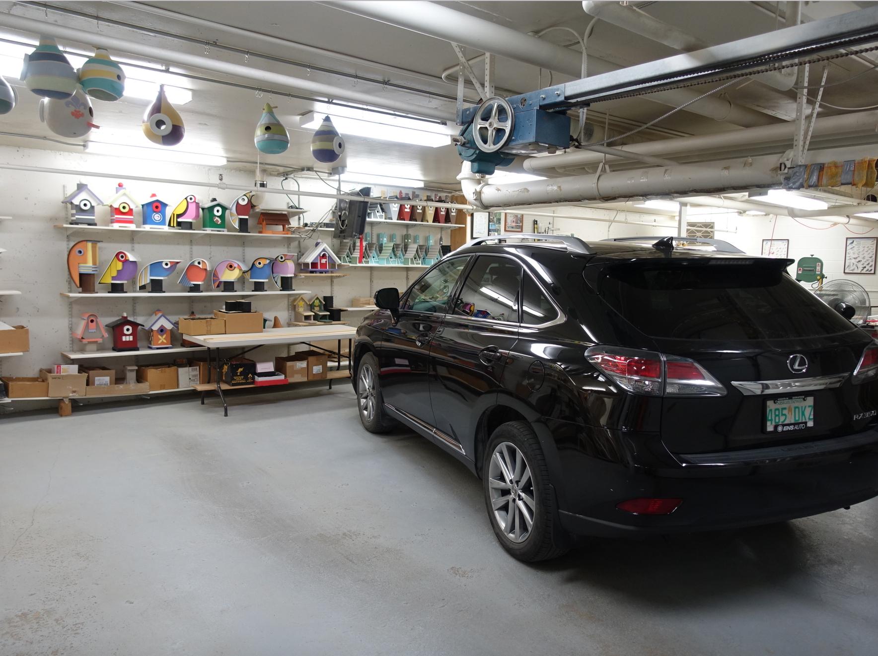 John Remai's (JR to his friends) garage/workshop.