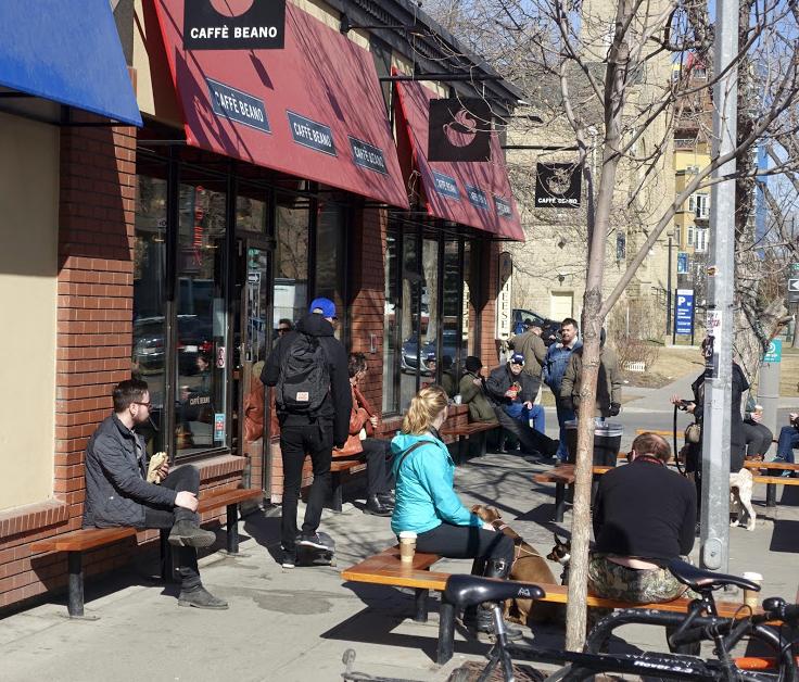 Cafe Beano a Calgary landmark.